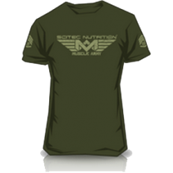 Camiseta Army Green Scitec Nutrition