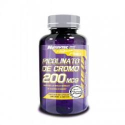 Picolinato de Cromo 200 mcg 100 caps