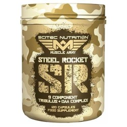 Steel Rocket 120 caps
