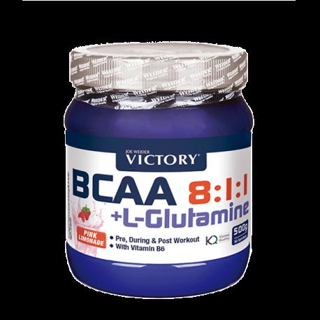 Bcaa + L-Glutamine 8:1:1 500 g