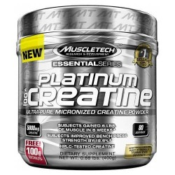 Platinum 100% Creatine 400 g