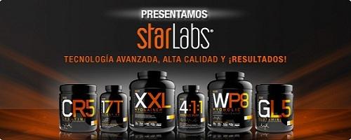 Banner de la marca Starlabs Nutrition