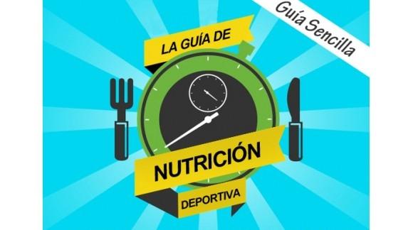Infografía sobre Nutrición Deportiva