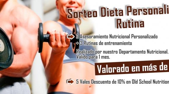 Sorteo 3 Dietas y Rutinas Personalizadas