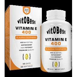 Vitamin E 400 60 perlas