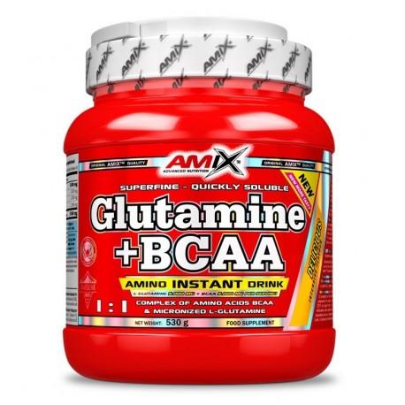Glutamina + BCAA 500 g