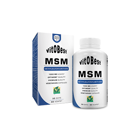 MSM 1000mg 60Vcaps