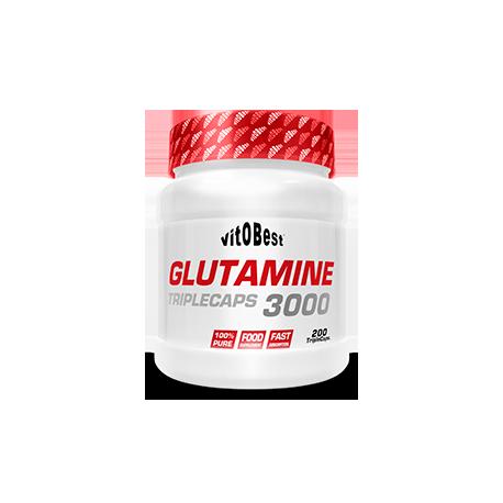 Glutamine 3000 200 Triple Caps