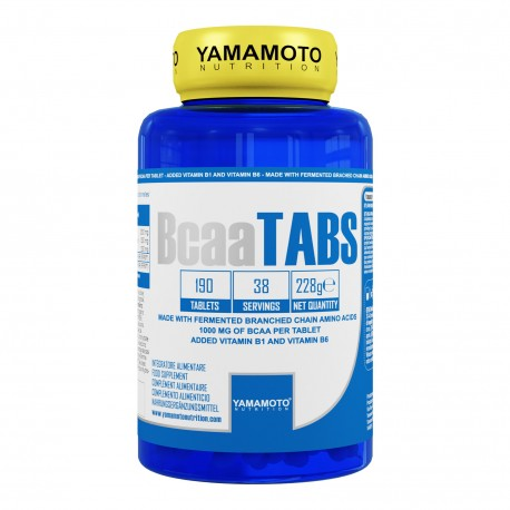 Bcaa Tabs 190 tabletas